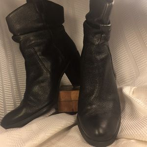 Joan&David circa leather ankle boots, worn once